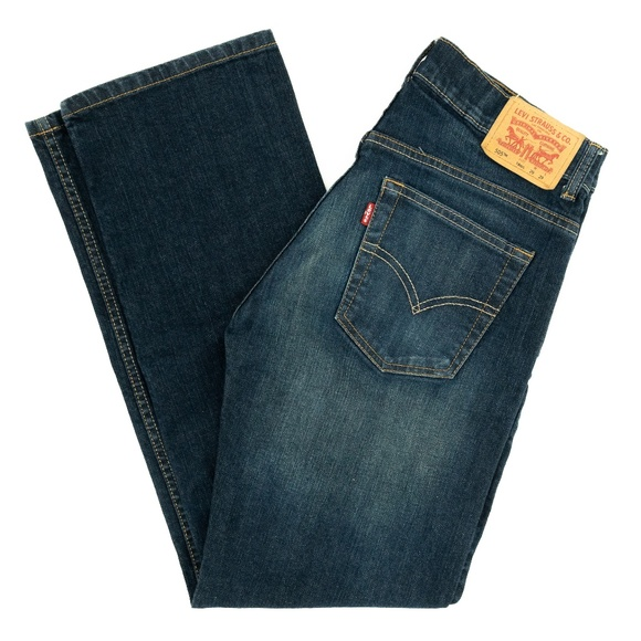 Levi's Denim - Levi's Strauss 505 Jeans Straight Mid Rise Blue 29